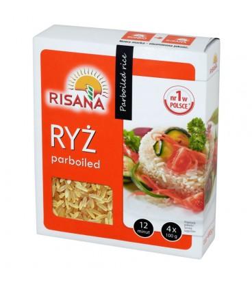 Risana Ryż parboiled 400 g (4 torebki)