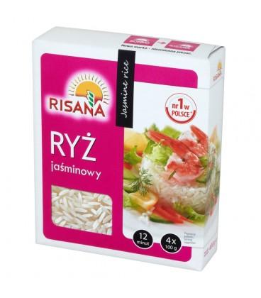 Risana Ryż jaśminowy 400 g (4 torebki)