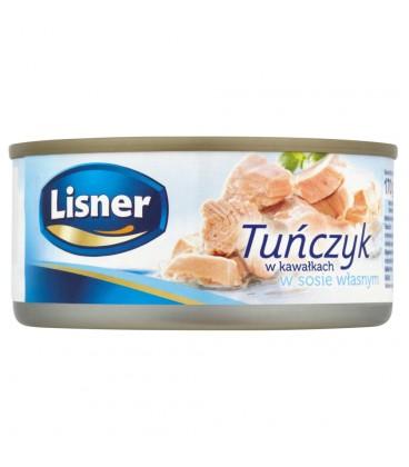 Lisner Tuńczyk w kawałkach w sosie własnym 170 g