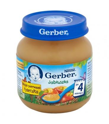Gerber Moja pierwsza łyżeczka Jabłuszka po 4 miesiącu 125 g