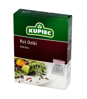 Kupiec Ryż dziki 200 g (2 torebki)