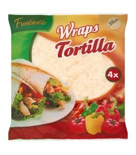 Funtastic Wraps Tortilla 250 g (4 sztuki)