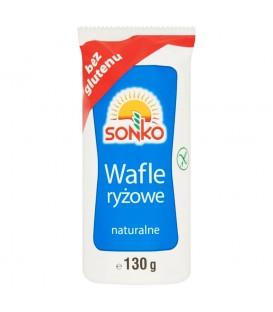 Sonko Wafle ryżowe naturalne 130 g