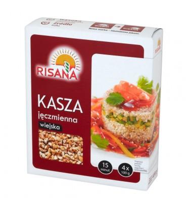 Risana Kasza jęczmienna wiejska 400 g (4 torebki)