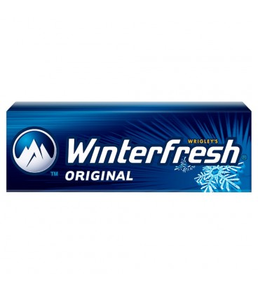 Winterfresh Original Guma do żucia bez cukru 14 g (10 drażetek)