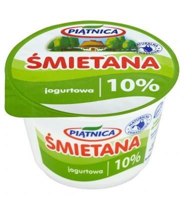 Piątnica Śmietana jogurtowa 10% 200 g