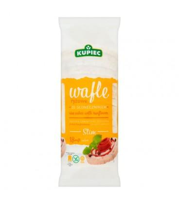 Kupiec Slim Wafle ryżowe ze słonecznikiem 84 g (18 sztuk)