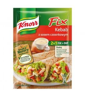 Knorr Fix Kebab z sosem czosnkowym 40 g