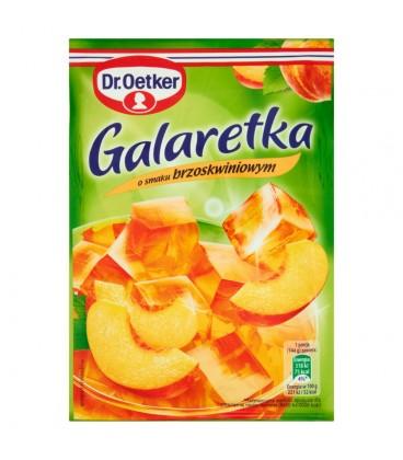 Dr. Oetker Galaretka o smaku brzoskwiniowym 77 g