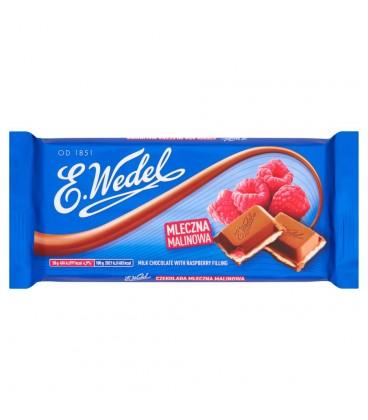 E. Wedel Czekolada mleczna malinowa 100 g