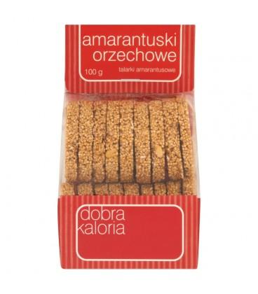 Dobra Kaloria Amarantuski orzechowe talarki amarantusowe 100 g