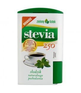 Zielony listek Stevia Słodzik naturalnego pochodzenia 13,8 g (250 tabletek)