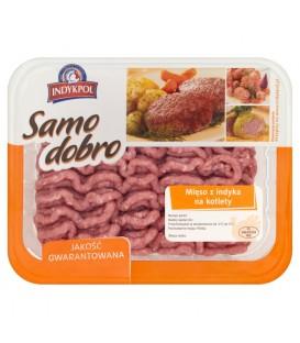 Indykpol Samo dobro Mięso z indyka na kotlety 500 g