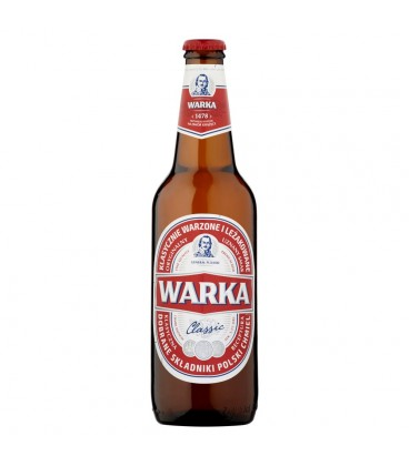 Warka Classic Piwo jasne 500 ml