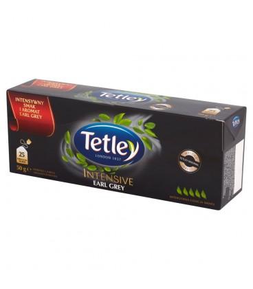 Tetley Intensive Earl Grey Herbata czarna aromatyzowana 50 g (25 torebek)