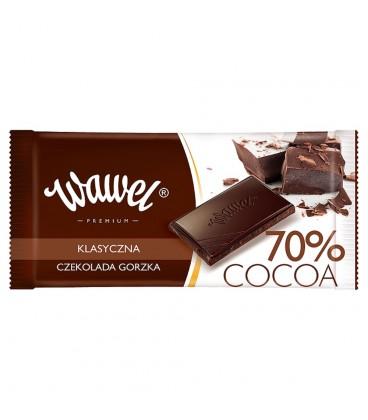 Wawel 70% Cocoa Czekolada gorzka klasyczna 100 g