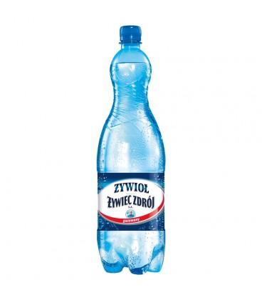 Żywioł od Żywiec Zdrój SA Woda źródlana gazowana 1,5 l