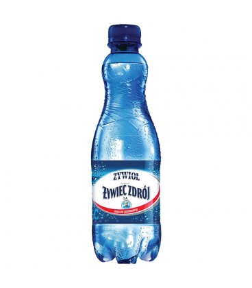 Żywioł od Żywiec Zdrój SA Woda źródlana mocno gazowana 500 ml