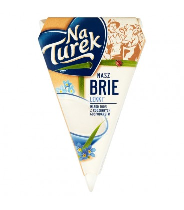 NaTurek Nasz Brie lekki Ser 125 g