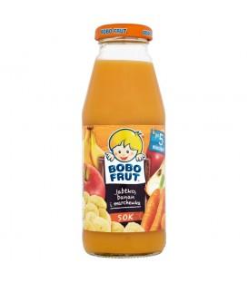 Bobo Frut Sok jabłko banan i marchewka po 5 miesiącu 300 ml