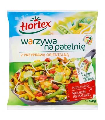 Hortex Warzywa na patelnię z przyprawą orientalną 450 g