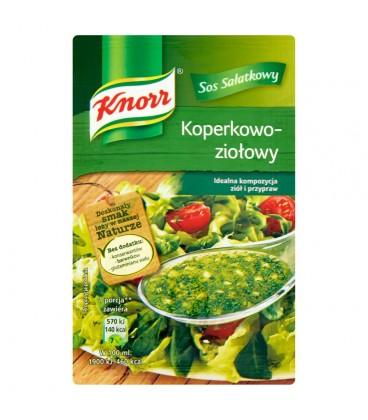 Knorr Sos sałatkowy koperkowo-ziołowy 9 g