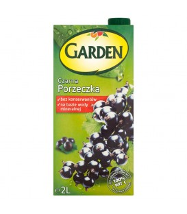 Garden Czarna Porzeczka Napój 2 l