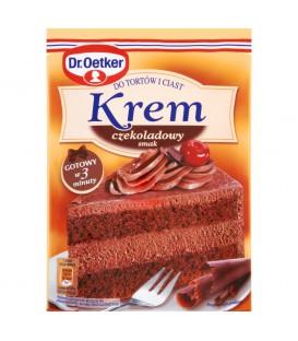 Dr. Oetker Krem do tortów i ciast smak czekoladowy 140 g
