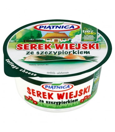 Piątnica Serek wiejski ze szczypiorkiem 150 g