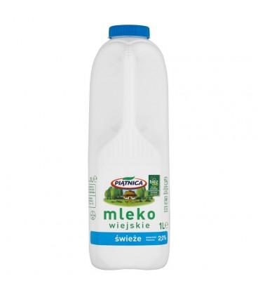 Piątnica Mleko wiejskie świeże 2,0% 1 l
