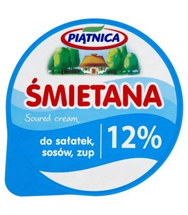 Piątnica Śmietana do sałatek sosów zup 12% 200 g