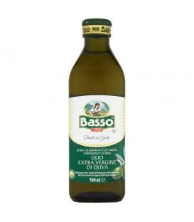 Basso Oliwa z oliwek najwyższej jakości z pierwszego tłoczenia 500 ml