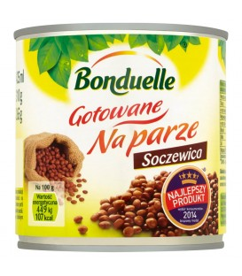 Bonduelle Gotowane na parze Soczewica 310 g