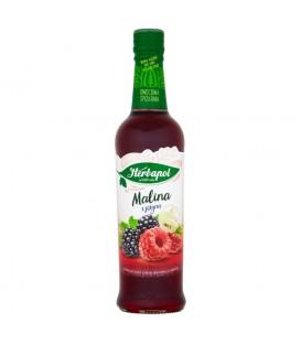 Herbapol Owocowa Spiżarnia Malina z jeżyną Syrop owocowy 420 ml