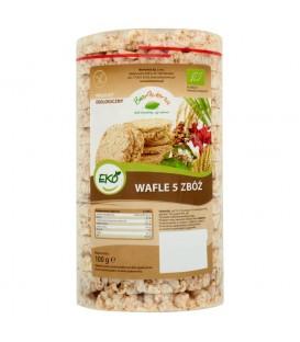 BioAvena Eko Wafle 5 zbóż 100 g