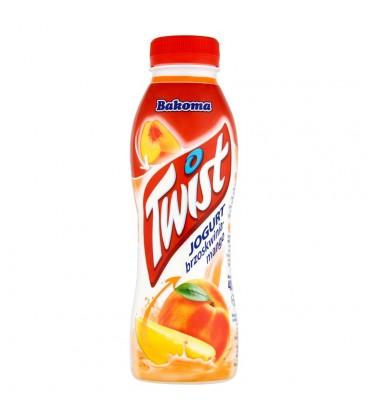 Bakoma Twist Jogurt brzoskwinia-mango 400 g