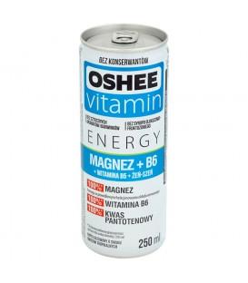 OSHEE vitamin energy formula magnez + vit. B6 250ml