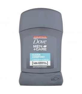 Dove Men+Care Clean Comfort Antyperspirant w sztyfcie 50 ml