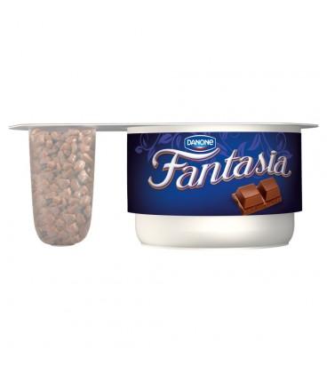 Danone Fantasia Jogurt kremowy z czekoladą mleczną 110 g
