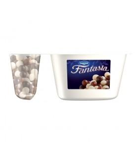 Danone Fantasia Jogurt kremowy z kulkami w czekoladzie 100 g