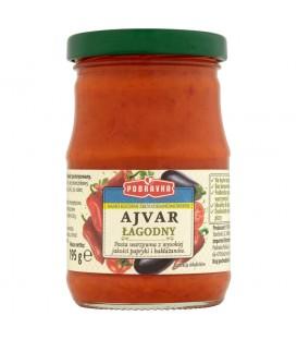 Podravka Smak kuchni śródziemnomorskiej Ajvar łagodny Pasta warzywna 195 g