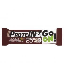 Sante Go On! Baton wysokobiałkowy kakaowy z inuliną w czekoladzie mlecznej 50 g