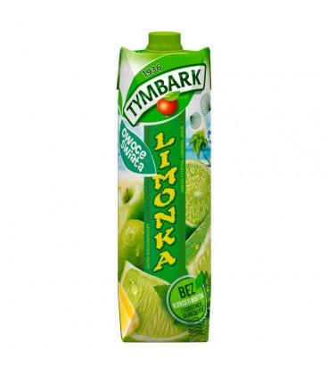 Tymbark Owoce Świata Limonka Napój wieloowocowy 1 l
