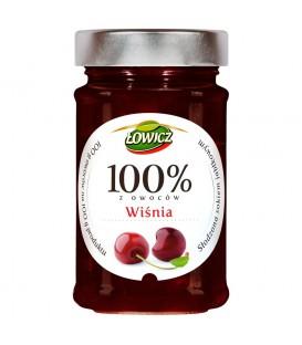 Łowicz 100% z owoców wiśnia 220 g