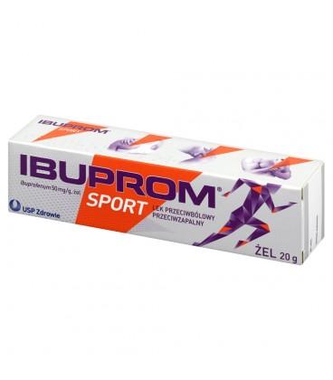 Ibuprom Sport 50 mg/g Żel 20 g