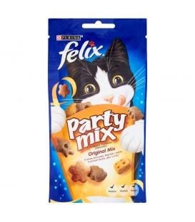 Felix Party mix Original Mix Przekąska o smaku kurczaka wątróbki i indyka 60 g