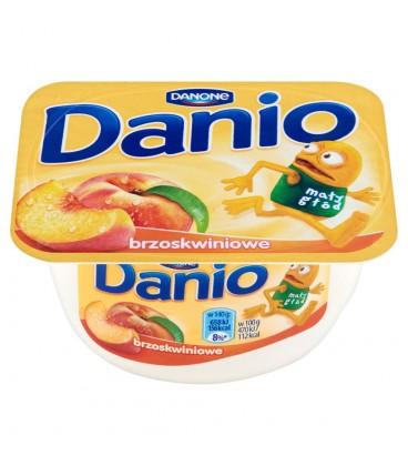 Danone Danio Serek homogenizowany brzoskwiniowy 140 g