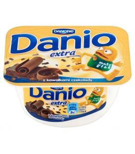 Danone Danio Extra Serek homogenizowany z czekoladą 130 g