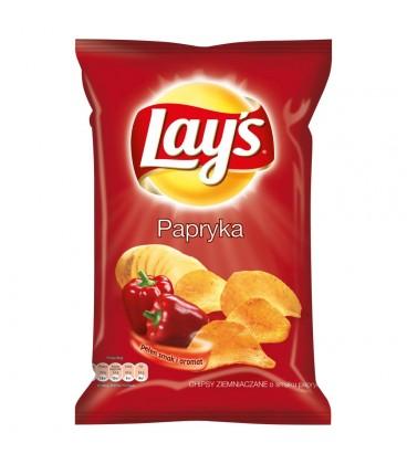 Lay's Papryka Chipsy ziemniaczane 80 g