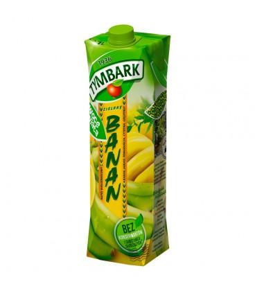 Tymbark Owoce Świata Zielony banan Napój wieloowocowy 1 l